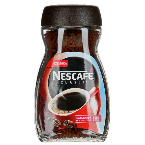 Кофе NESCAFE CLASSIC натур. растворим. гранулир. 95 гр