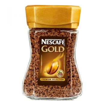Nescafe Gold 100% кофе растворимый, 47,5 г